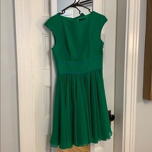 Ted Baker, size 2 green dress- great for twirling!